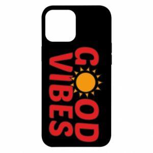 iPhone 12 Pro Max Case Good vibes sun