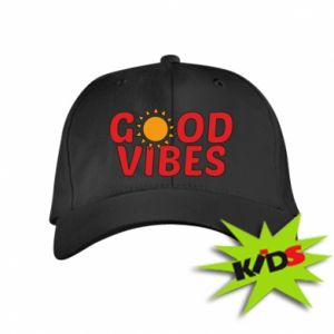 Kids' cap Good vibes sun