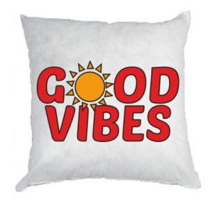 Pillow Good vibes sun