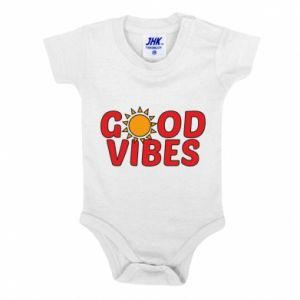 Baby bodysuit Good vibes sun