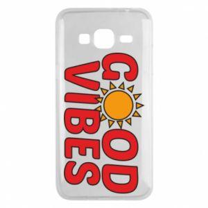 Samsung J3 2016 Case Good vibes sun