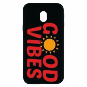 Samsung J3 2017 Case Good vibes sun