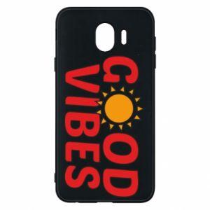 Samsung J4 Case Good vibes sun