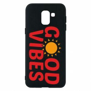 Samsung J6 Case Good vibes sun