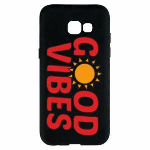 Samsung A5 2017 Case Good vibes sun
