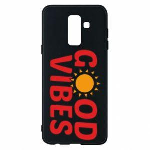 Samsung A6+ 2018 Case Good vibes sun