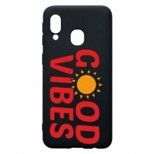 Samsung A40 Case Good vibes sun
