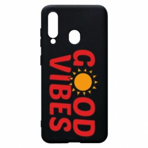 Samsung A60 Case Good vibes sun
