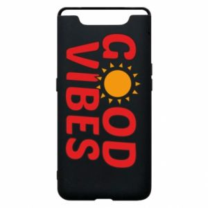 Samsung A80 Case Good vibes sun