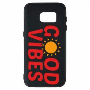 Samsung S7 Case Good vibes sun