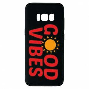 Samsung S8 Case Good vibes sun