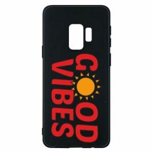 Samsung S9 Case Good vibes sun