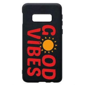 Samsung S10e Case Good vibes sun