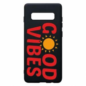 Samsung S10+ Case Good vibes sun
