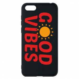Huawei Y5 2018 Case Good vibes sun