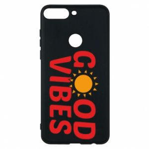 Huawei Y7 Prime 2018 Case Good vibes sun