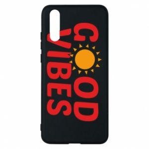 Huawei P20 Case Good vibes sun