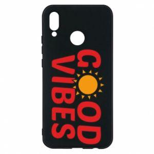 Huawei P20 Lite Case Good vibes sun
