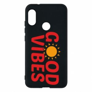 Mi A2 Lite Case Good vibes sun