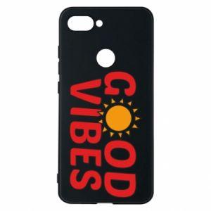 Xiaomi Mi8 Lite Case Good vibes sun