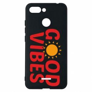 Xiaomi Redmi 6 Case Good vibes sun