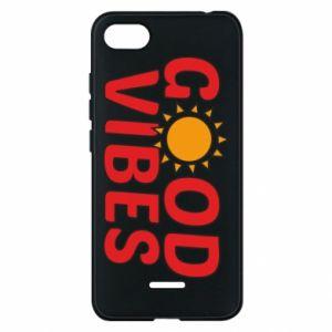 Xiaomi Redmi 6A Case Good vibes sun