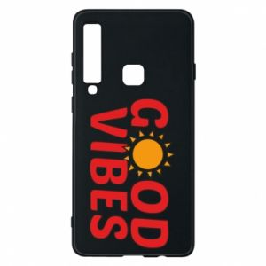 Samsung A9 2018 Case Good vibes sun