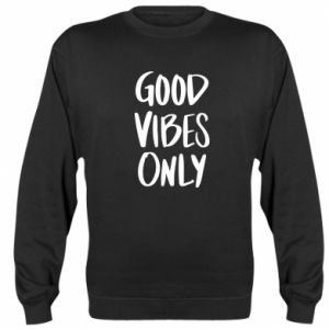 Bluza (raglan) GOOD VIBES ONLY