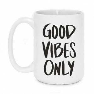Kubek 450ml GOOD VIBES ONLY