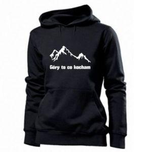 Damska bluza Góry to co kocham