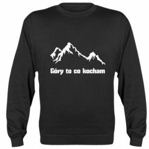 Bluza (raglan) Góry to co kocham