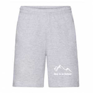 Men's shorts Mountains What I love