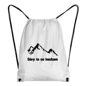 Plecak-worek Góry to co kocham
