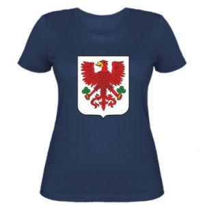 Damska koszulka Gorzów Wielkopolski herb