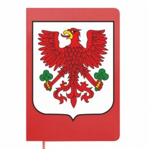 Notepad Gorzow Wielkopolski coat of arms