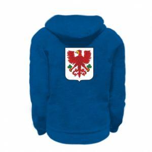 Bluza na zamek dziecięca Gorzów Wielkopolski herb