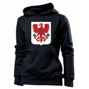 Women's hoodies Gorzow Wielkopolski coat of arms