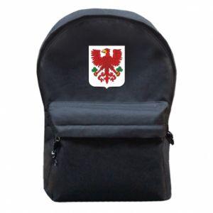 Plecak z przednią kieszenią Gorzów Wielkopolski herb