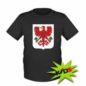 Kids T-shirt Gorzow Wielkopolski coat of arms