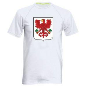 Men's sports t-shirt Gorzow Wielkopolski coat of arms