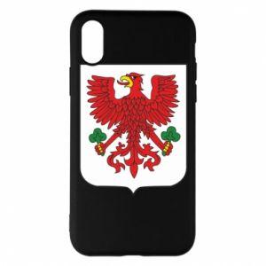 Phone case for iPhone X/Xs Gorzow Wielkopolski coat of arms