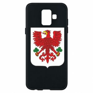 Phone case for Samsung A6 2018 Gorzow Wielkopolski coat of arms