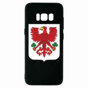 Phone case for Samsung S8 Gorzow Wielkopolski coat of arms