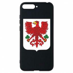 Phone case for Huawei Y6 2018 Gorzow Wielkopolski coat of arms