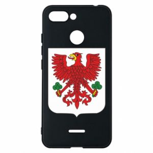 Phone case for Xiaomi Redmi 6 Gorzow Wielkopolski coat of arms
