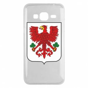 Phone case for Samsung J3 2016 Gorzow Wielkopolski coat of arms