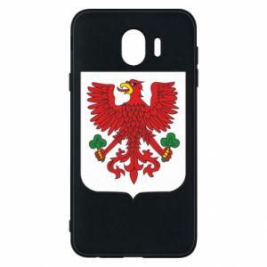 Phone case for Samsung J4 Gorzow Wielkopolski coat of arms