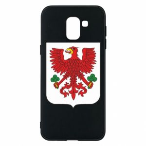 Phone case for Samsung J6 Gorzow Wielkopolski coat of arms