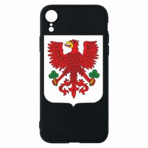 Phone case for iPhone XR Gorzow Wielkopolski coat of arms