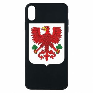 Phone case for iPhone Xs Max Gorzow Wielkopolski coat of arms